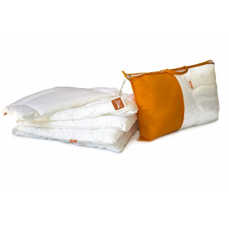 """Одеяло и подушка комплект """"Magic cradle"""" , цвет голубой 90х120см"""