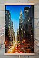 Картина обогреватель (Манхеттен, ночной) настенный пленочный электрообогреватель Трио 00123 (GK), фото 6