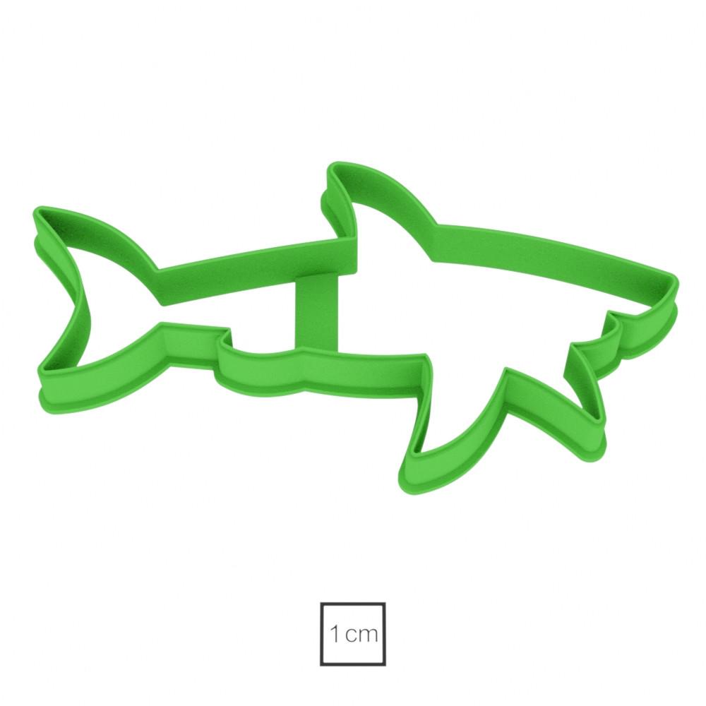 Висічка для пряників у вигляді акули