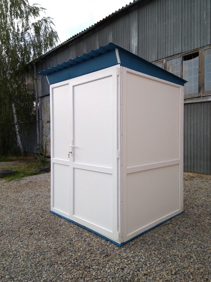 Туалет утеплений 150х150х220см