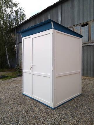 Туалет утеплений 150х150х220см, фото 2