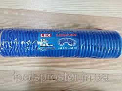 Шланг полиуретановый для компрессора Lex LXAH10M : 10 м. | 5 X 8 мм