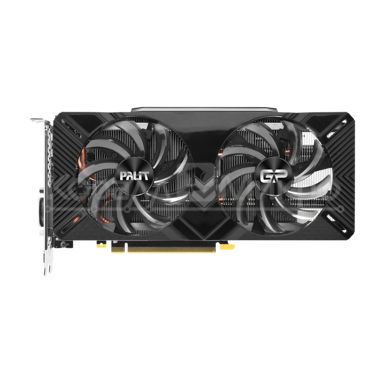 Видеокарта 8Gb PCI-Exp Palit GeForce RTX2070 DUAL GDDR6 (256bit) HDMI/3xDP/USB-C (RTL) NE62070015P2-1062A