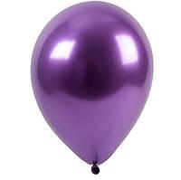 Кулька повітряний 5 дюймів ( 13 см ) ХРОМ ФІОЛЕТОВИЙ