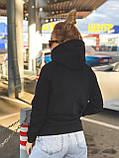 Батник женский короткий теплый на флисе зимний норма, разные цвета, р.42-44,46-48 Код 770Т, фото 9
