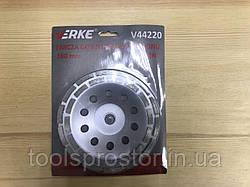 Диск для шлифовки бетона Verke V44220 : 180 мм   сегментный