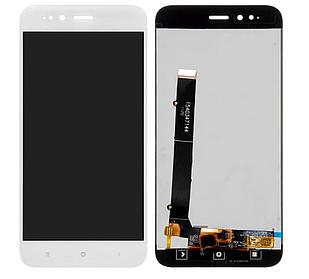 Модуль для Xiaomi Mi 5X, Mi A1, белый, дисплей + сенсор