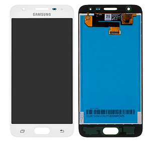 Модуль для Samsung Galaxy J5 Prime, Samsung G570, белый, дисплей + сенсор