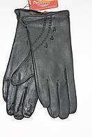 Перчатки кожаные женские 12208