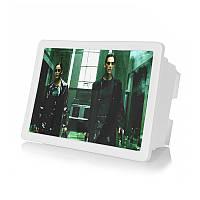 Увеличитель Lesko F2 White 3D эффект увеличение экрана смартфона в три раза