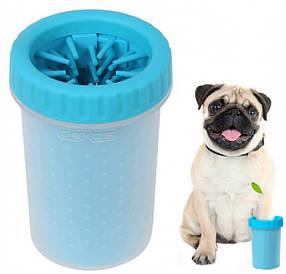 Лапомойка  для малых и средних пород собак | Емкость для мытья лап Soft Gentle (11 см)