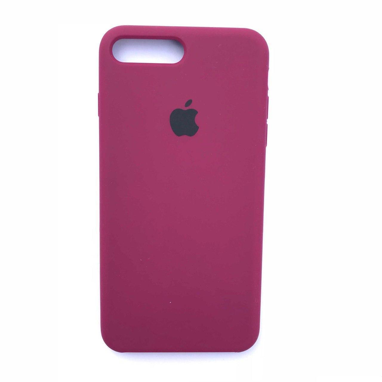 Чехол-накладка Silicone Case для Apple iPhone 7 Plus iPhone 8 Plus Cherry