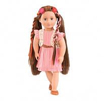Вінілова лялька Паркер (46 см) з зростаючими волоссям і аксесуарами, Our Generation