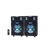 Активная акустика Ailiang UF-7711-DT 200Вт | USB, Bluetooth, FM, Пульт Колонки