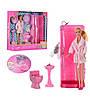 Кукла Барби с ванной комнатой и аксессуарами Defa Lucy