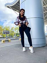 Женские удобные чёрные стрейчивые джинсы джинс коттон (95%коттон) размеры от 48 по 56