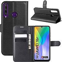 Чехол-книжка Litchie Wallet для Huawei Y6p Black