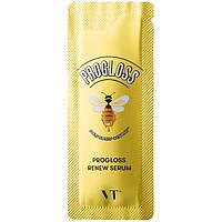 Сыворотка для тусклой кожи лица с прополисом и маточным молочком VT Cosmetics Progloss Renew Serum