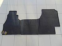 Коврики в салон резиновыедля Mercedes Sprinter 1 95/Volkswagen LT 2 95-, Polytep , комплект 3шт