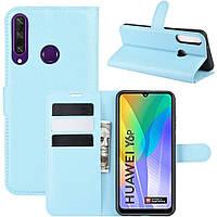 Чехол-книжка Litchie Wallet для Huawei Y6p Blue