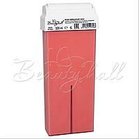 Воск Rosa/Titanium Pink/ воск розовый. Воск в кассете роза (Италия), фото 1