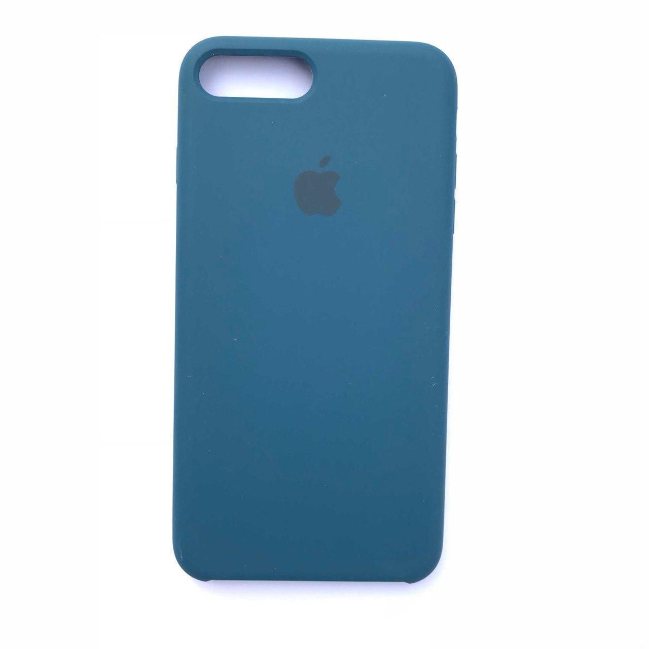 Накладка Silicone Case для Apple iPhone 7 Plus iPhone 8 Plus Cosmos Blue
