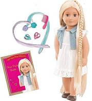 Вінілова лялька Фібі (46 см) з довгим волоссям блонд і аксесуарами, Our Generation