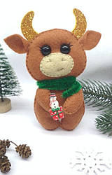 Со снеговиком на подарке