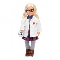 Вінілова лялька Амелія (46 см) винахідник, Our Generation