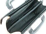 Портфель-саквояж Jurom Черный (0-35-111 Black), фото 7