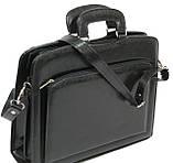 Портфель-саквояж Jurom Черный (0-35-111 Black), фото 8