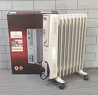 Обогреватель масляный Crownberg CB-9-S 2000W Радиатор электрический на 9 Секций
