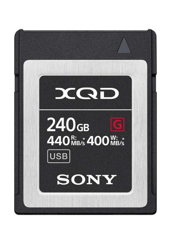 XQD 240 GB Sony карта памяти лоя фотокамеры