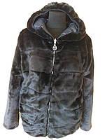 Куртка молодежная двухсторонняя чёрного цвета в размере 44-50
