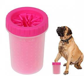 Лапомойка  для средних и крупных пород собак | Емкость для мытья лап Soft Gentle (15 см)