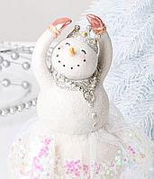 Статуэтка Снеговик новогодняя 919-370