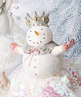 Статуэтка Снеговик новогодняя 919-369