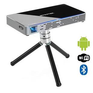Проектор мультимедийный карманный DLP 30-150″, Android, Byintek UFO P10