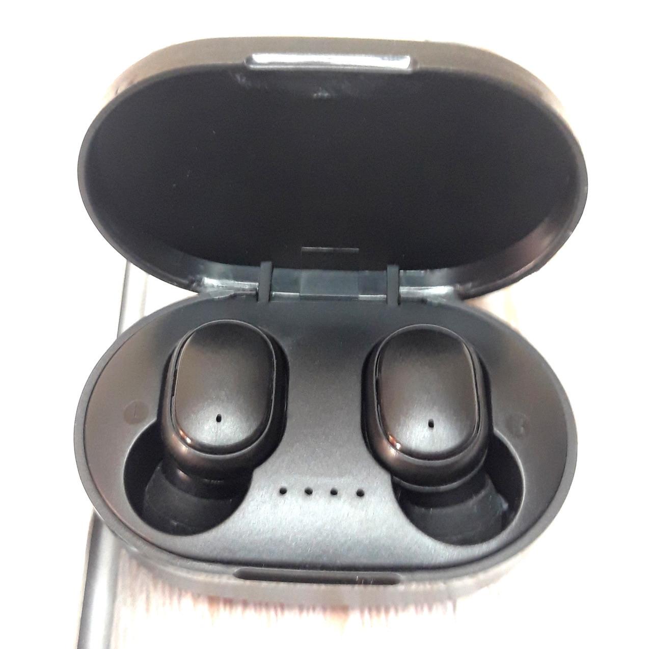 Наушники беспроводные A6S с шумоподавлением Bluetooth блютуз с микрофоном Черный (Оригинальные фото)