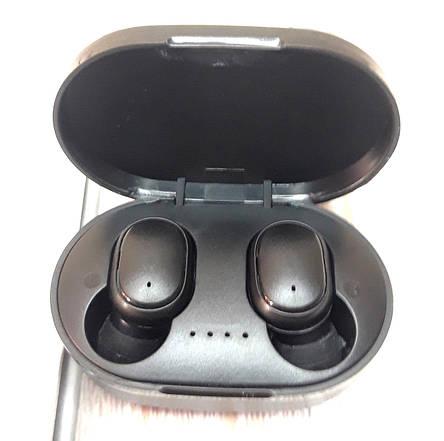 Наушники беспроводные A6S с шумоподавлением Bluetooth блютуз с микрофоном Черный (Оригинальные фото), фото 2