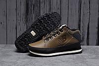 Чоловічі демісезонні кросівки New Balance 754 шкіряні на шнурках в стилі Нью Баланс 751