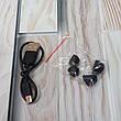 Наушники беспроводные A6S с шумоподавлением Bluetooth блютуз с микрофоном Черный (Оригинальные фото), фото 3