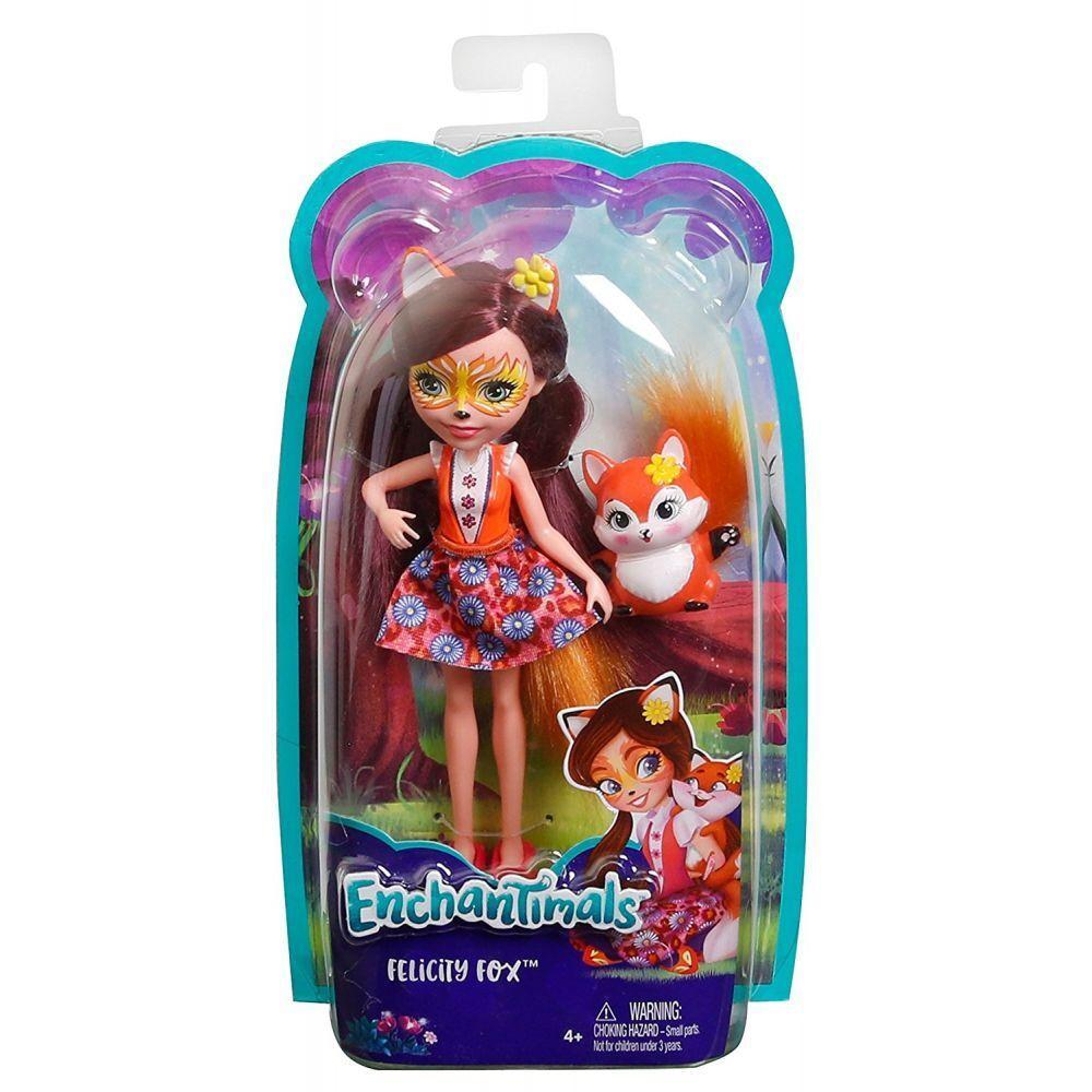 Enchantimals - лялька енчантімалс з лисичкою ( Кукла Энчантималс Лисичка Фелисити Лис )