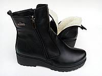 Ботинки женские,кожа,зима,Украина.