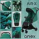 Детская прогулочная коляска Anex Air-X Ax-05 Green, фото 3