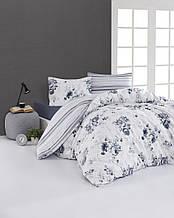 Комплект постельного белья из фланели евро размер ТМ First Choice Jaden Mavi