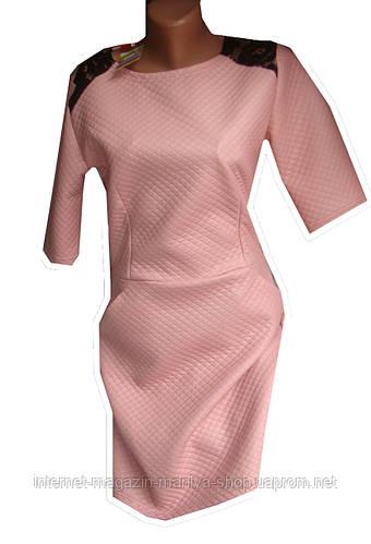 Женское платье кожа 4 цвета