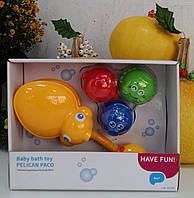 """Игрушка для ванны """"Пеликан Пако"""" 881"""