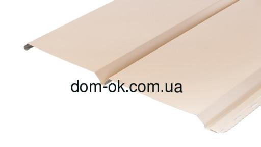 Металлический сайдинг  под Доску цвет бежевый RAL 1015 0,43 мм Китай