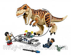 "Конструктор Bela ""Jurassic World - Транспорт для перевозки Тираннозавр"" , 638 дет., 10927, фото 3"